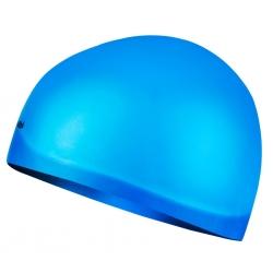 Czepek z silikonu na długie włosy SEAGULL jasnoniebieski Spokey