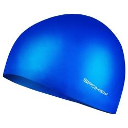 Czepek pływacki jednobarwny SUMMER niebieski Spokey