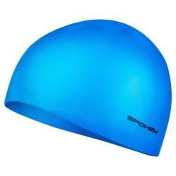 Czepek pływacki jednobarwny SUMMER jasnoniebieski Spokey