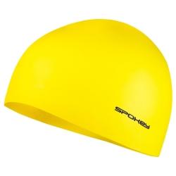 Czepek pływacki jednobarwny SUMMER żółty Spokey