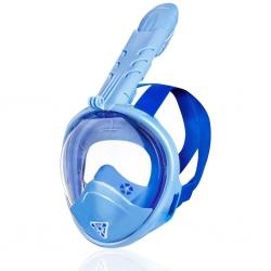 Maska pełnotwarzowa do nurkowania dla dzieci ZUMI JR niebieska Spokey