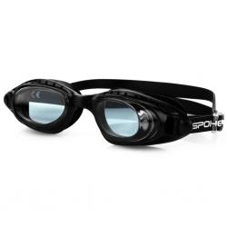Okulary pływackie DOLPHIN czarne Spokey