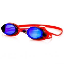 Okulary pływackie SPARKI czerwone Spokey