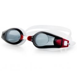 Okulary pływackie ROGER czerwono-czarne, Spokey