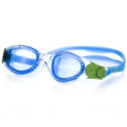 Okulary pływackie SIGIL niebiesko-zielone Spokey
