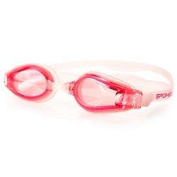 Okulary pływackie SKIMO różowe Spokey