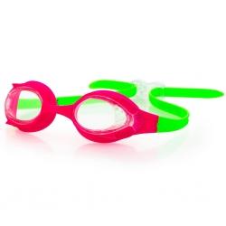 Okulary pływackie dla dzieci FLIPPI różowo-zielone Spokey