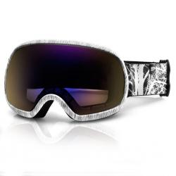 Gogle narciarskie PARK biało-czarne Spokey