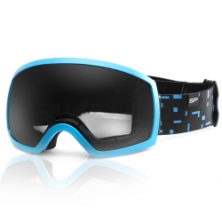 Gogle narciarskie RADIUM niebieskie Spokey