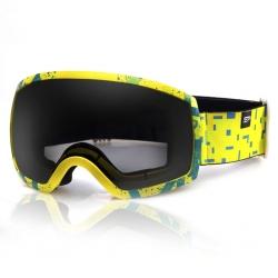 Gogle narciarskie RADIUM żółte Spokey