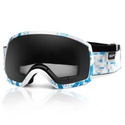 Gogle narciarskie RADIUM białe Spokey