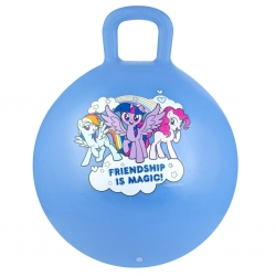 Piłka skacząca 45cm My Little Pony