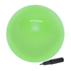 Piłka gimnastyczna 65cm + pompka FITBALL III Spokey