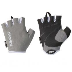 Rękawiczki treningowe, fitness, damskie, szaro-czarne LADY FIT Spokey