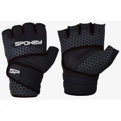 Rękawice fitness do ćwiczeń czarne LAVA Spokey