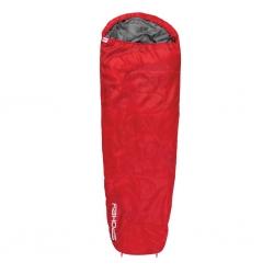 Śpiwór dwusuwakowy GLOBTROTTER czerwony Spokey