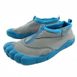 Obuwie plażowe, buty do wody junior REEF BOY szaro-niebieskie Spokey