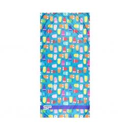 Ręcznik plażowy, turystyczny 160x80cm IBIZA Spokey