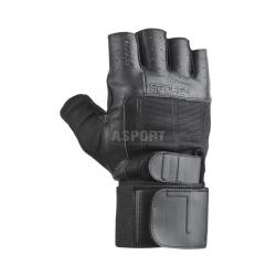 Rękawiczki fitnesowe GUANTO II czarne Spokey