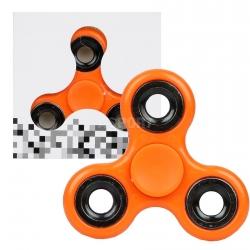 Fidget spinner, zabawka obrotowa pomarańczowy
