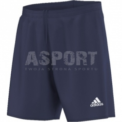 Spodenki piłkarskie, sportowe, chłopięce PARMA 16 SHORT granatowe Adidas