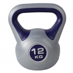 Kettlebell, hantla winylowa, odważnik 12kg HK0082 SportVida