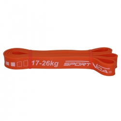 Guma, taśma do ćwiczeń fitness, power band SV-HK0091 28mm SportVida