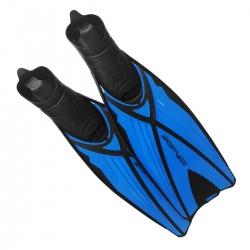 Płetwy kaloszowe długie, niebieskie Sportvida