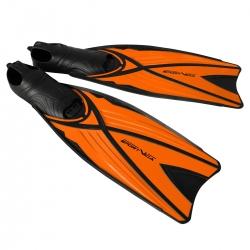 Płetwy kaloszowe długie, pomarańczowe Sportvida