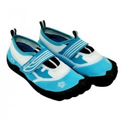 Obuwie plażowe dla dzieci niebieskie Sportvida