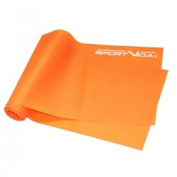 Guma fitness, taśma do ćwiczeń i rehabilitacji 2m x 0,45mm SportVida