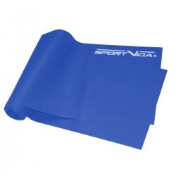 Guma fitness, taśma do ćwiczeń i rehabilitacji 2m x 0,55mm SportVida