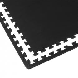 Mata puzzle z krawędziami 61x61x1 cm 4 sztuki Sportvida