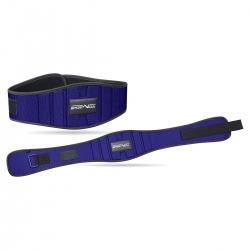 Pas kulturystyczny, do treningu siłowego, neoprenowy 15 cm niebieski SportVida