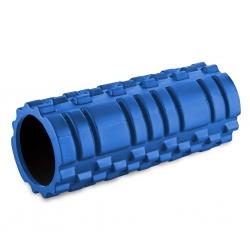 Roller, wałek do ćwiczeń fitness, do masażu 33cm niebieski SportVida