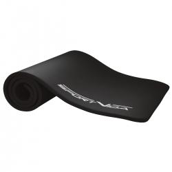 Gruba mata NBR do ćwiczeń fitness, jogi, pilates 180x60x1,5 czarna SportVida