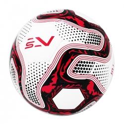 Piłka nożna na sztuczne nawierzchnie rozmiar 5 biało-czerwona Sportvida