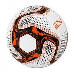 Piłka nożna na sztuczne nawierzchnie rozmiar 5 biało-pomarańczowa Sportvida