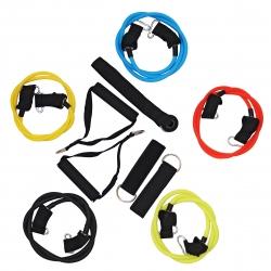 Ekspander gumowy z 5 gumami TAŚMY OPOROWE Sportvida