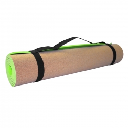 Mata do jogi korkowa 4mm Sportvida