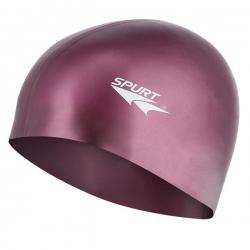 Czepek silikonowy, purpurowy SPURT