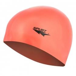 Czepek silikonowy, pomarańczowy SPURT