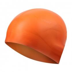 Czepek pływacki męski G-TYPE MEN F202 pomarańczowy wzór SPURT