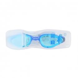 Okularki pływackie dla seniorów, jasnoniebieskie SPURT