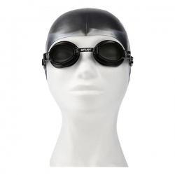 Zestaw pływacki, uniwersalne okularki + czepek SPURT