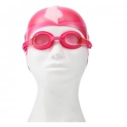 Zestaw pływacki, uniwersalne okularki + czepek  ZEBRA SPURT
