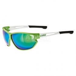 Okulary przeciwsłoneczne, sportowe, lustrzanki, filtr UV400 SPORTSTYLE 810 Uvex