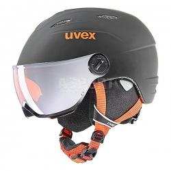 Kask narciarski, snowboardowy z wizjerem JUNIOR VISOR PRO 28 Uvex