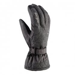 Damskie rękawice zimowe z kryształkami MIRABEL 08 Viking