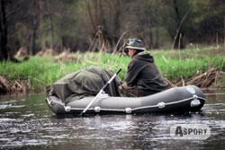 Ponton wędkarski 4-osobowy 270x130cm Polska Produkcja Wats
